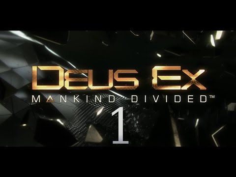 Cry Plays: Deus Ex: Mankind Divided [P1]
