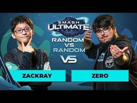 zackray vs ZeRo - Random vs Random: Losers' Quarterfinals - Smash Ultimate Summit thumbnail