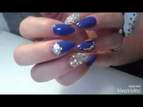 ongles en gel strass swarovski youtube. Black Bedroom Furniture Sets. Home Design Ideas