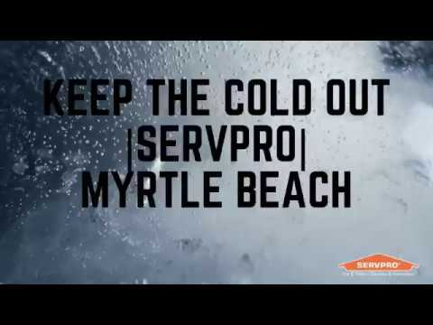 Keep The Cold Out | SERVPRO | Georgetown County