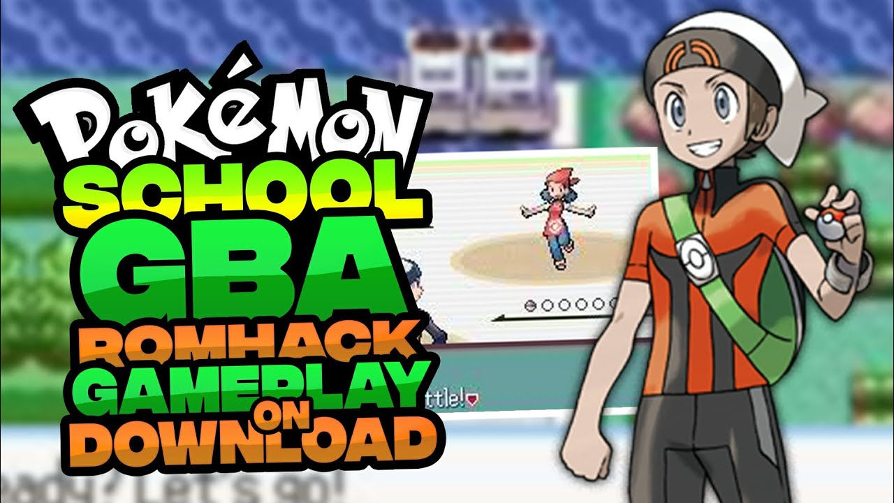 Pokemon school hack rom