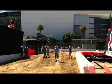 X Games Los Angeles 2012: Rally Crash Alternate Angle