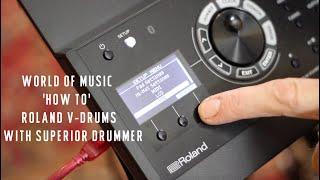 Using Roland TD-17 V-Drums with Toontrak Superior Drummer | World of Music