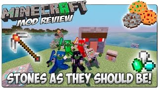 STONES AS THEY SHOULD BE MOD MINECRAFT 1.7.10 | Super mod de ores y piedras | MINECRAFT MODS