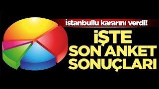 23 haziran istanbul en son seçim anket sonucu