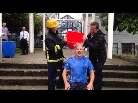 Limerick City & County Council Chief Executive Conn Murray's Ice Bucket Challenge