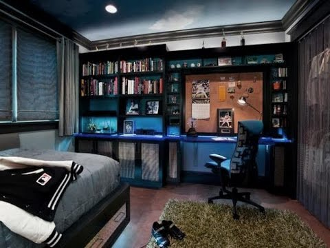 Awesome Boy Bedroom Ideas - YouTube on Teenage Room Colors For Guys  id=12407