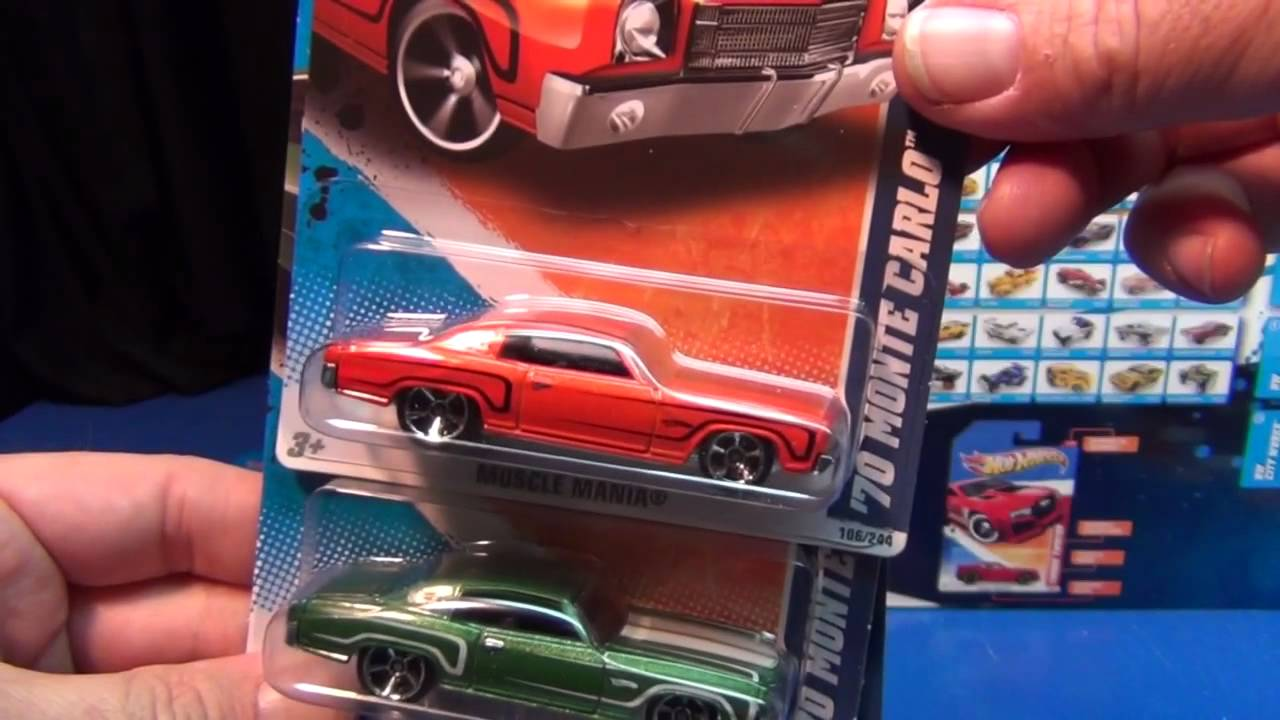 muscle mania series: 2011 hot wheels year in review - youtube