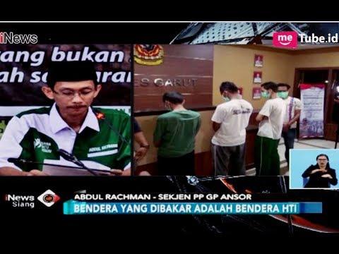 GP Ansor: Pembakaran Bendera HTI Tidak Sesuai SOP Komando Banser - iNews Siang 24/10