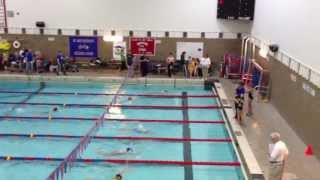 Callie - 50m butterfly Lane 1 (5-4-13)
