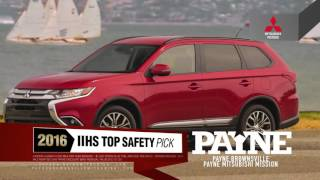 Get the 2016 Mitsubishi Outlander for $209/month | Payne Mission | Mission, Texas