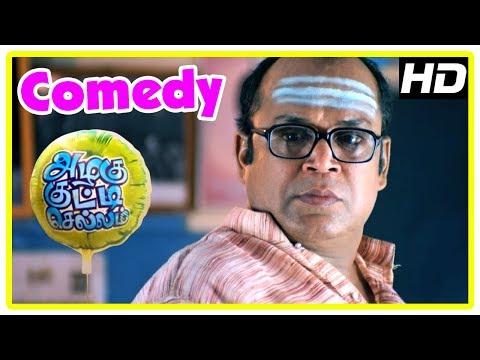 Azhagu Kutti Chellam Comedy Scenes | Part 1 | Thambi Ramaiah | Karunas | Suresh | John Vijay