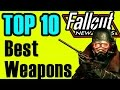 Fallout New Vegas: TOP 10 Weapons (All DLC Best Weapons)