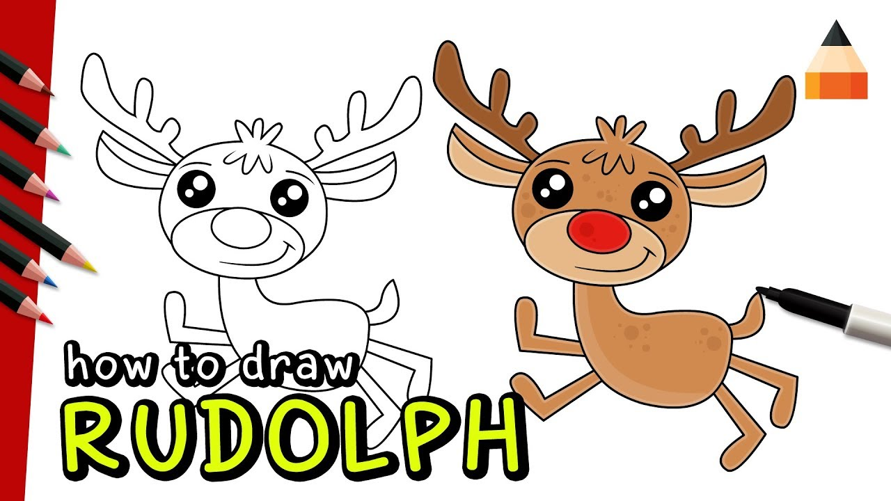 how to make rudolph the reindeer