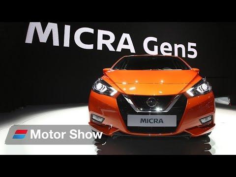 2017 Nissan Micra at Paris Motor Show - First Look