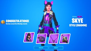 How To Get Shadow Or Ghost Skye - Complete 18 Skye Challenges fortnite