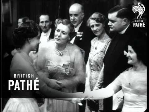 Princess At Film Premiere  (1954)