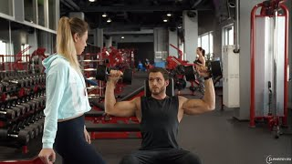 Школа фитнеса. Урок 5 - Как накачать руки и плечи