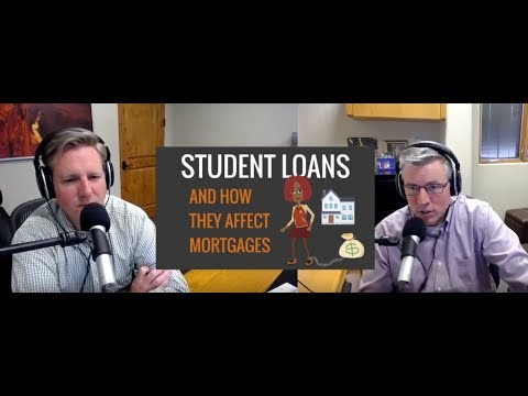 How Student Loans Affect Qualifying For A Mortgage?