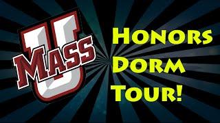 Umass Amherst Dorm Tour! - Honors College Suite (ELM)