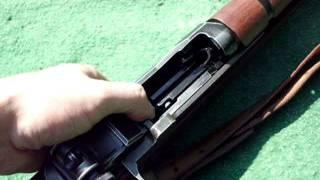 Marushin M1 Garand 8mm GBB Clip Auswurf