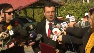 Зоран Заев  кај Претседателот  27 02 2017
