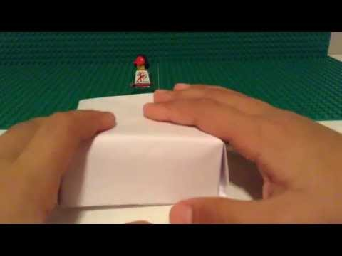 How To Make A Paper Box With No Glue And Tape