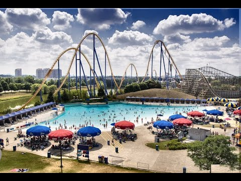 Canada's Wonderland Toronto - Splash Works Waterpark - GoPro