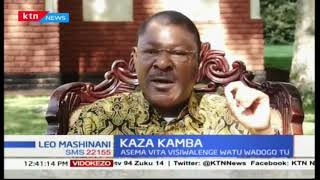 Moses Wetangula's advice to President Uhuru on tackling the war on corruption