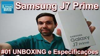 Samsung Galaxy J7 Prime - UNBOXING e Especificações (SURPREENDENTE)