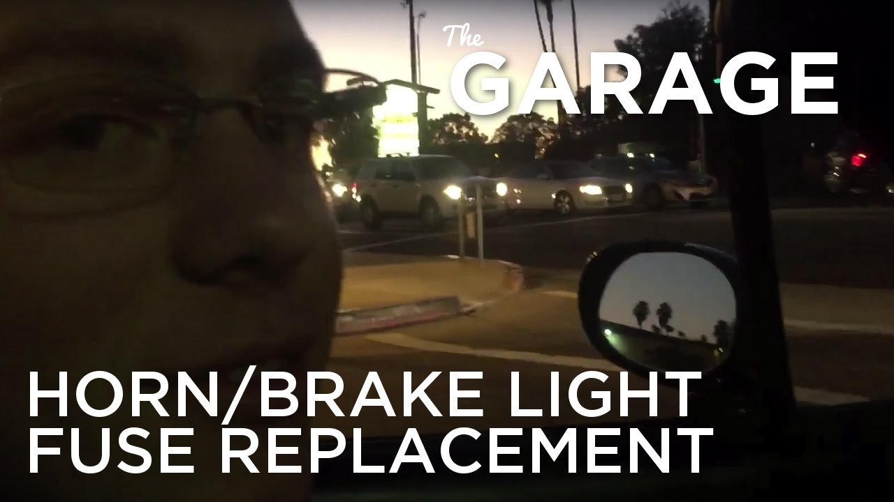 hight resolution of the garage replacing the miata horn brake light fuse