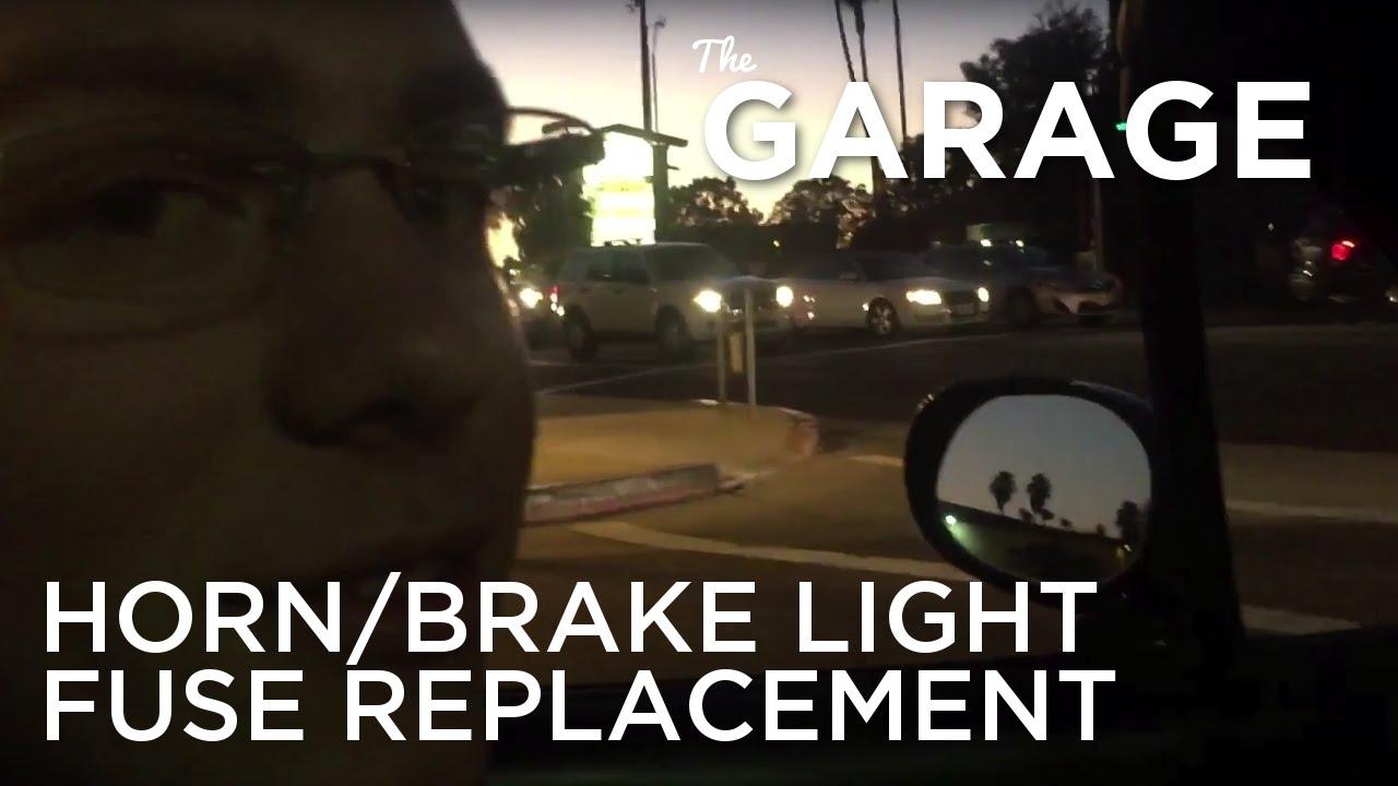 The Garage Replacing Miata Horn Brake Light Fuse Youtube 1995 Box Location