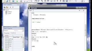 Уроки программирования на Delphi 7 (Урок 8. Цикл for..to..Do)
