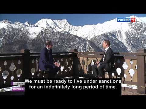 Medvedev: It Is Good News For Russia, Sanctions Are There To Stay!