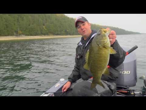 Fish Rippin' Raps for Smallmouth Bass in Door County, WI -- In-Depth Outdoors TV Season 8, Episode 1
