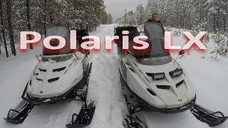 Снегоход Polaris LX 500.95 КМ/Ч .ПОКАТУШКИ.  . cмотреть видео онлайн бесплатно в высоком качестве - HDVIDEO