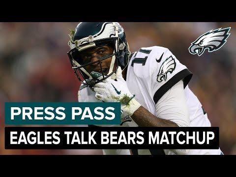 Jeffery, Ertz, Jenkins, & More Talk Bears Matchup | Eagles Press Pass Compilation