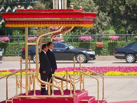 Hun Sen Prime Minister of Cambodia in China May 2017