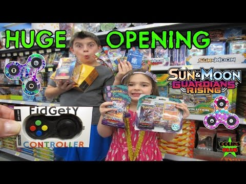 "Thumbnail: HUGE! Pokémon Fidget Toy Hunting Again - New Toy Store Visit ""Learning Express Toys"""