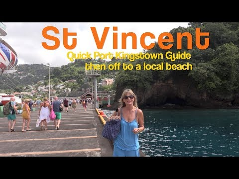 St. Vincent, Kingstown Guide and cheapest way to white sand beach