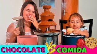 Chocolate VS Comida de verdade #1 - MC Divertida