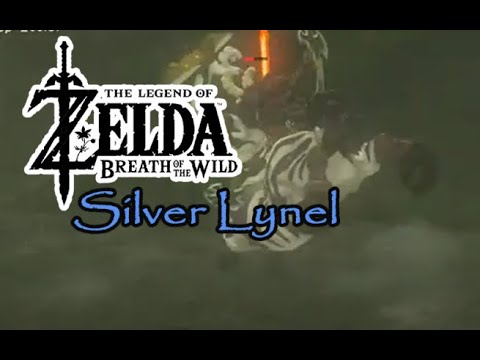 Zelda: BotW Silver Lynel colosseum fight and ride