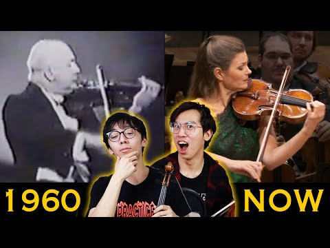 How Violin Playing Has COMPLETELY CHANGED In The Last 60 Years