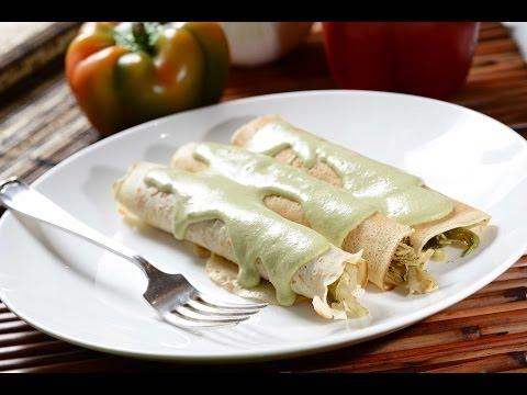 Poblano Crepes Recipes — Dishmaps