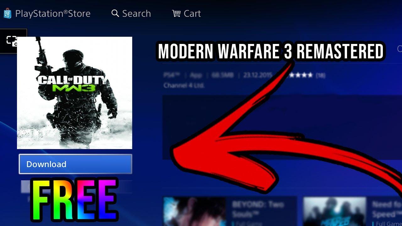 Call Of Duty Modern Warfare 3 Remastered Cod Mw3 Remastered