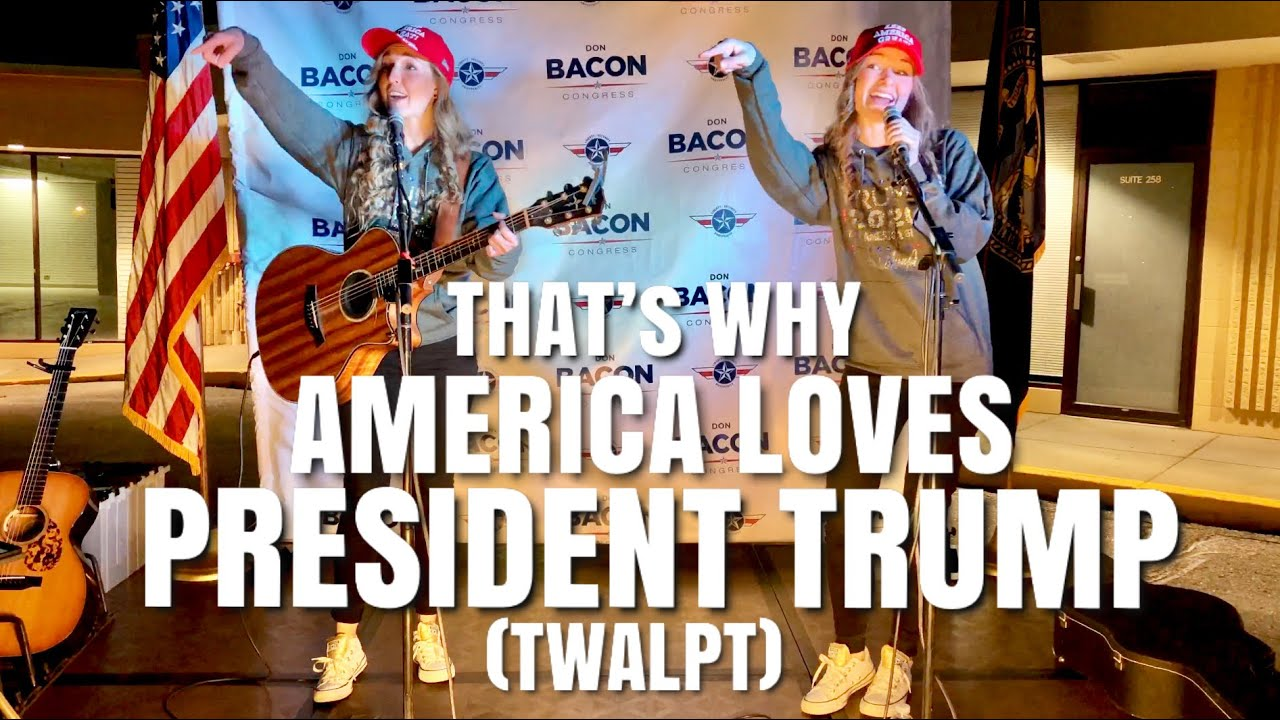 That's Why America Loves President Trump (TWALPT) - Original Election Song