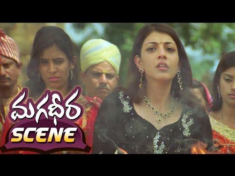 Ram Charan Giving Warning TO Dev Gill  Magadheera Telugu Movie  Kajal Aggarwal