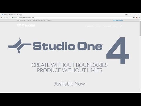 Studio One 4 Prime Download & Install Instructions