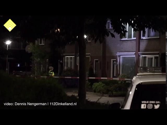 Verwarde man op dak in Denekamp, arrestatieteam ingezet