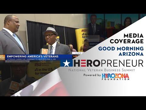 HeroPreneur NVBS 2018 on Good Morning Arizona azfamily 3TV